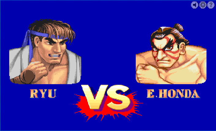 Онлайн игра - Стрийт файтер / Street fighter