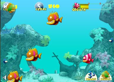 Онлайн игра Риба хишник