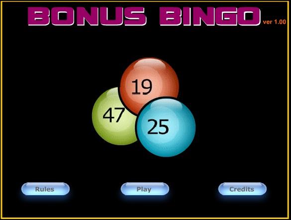 Онлайн игра - Бинго Бонус Bonus Bingo