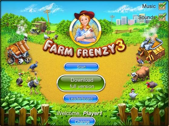 Онлайн игра Farm Frenzy 3 Веселата ферма 3