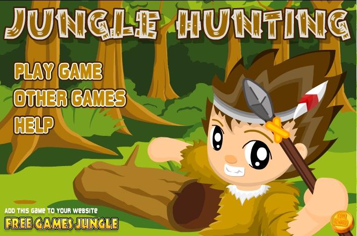 Онлайн игра Ловецът в джунглата