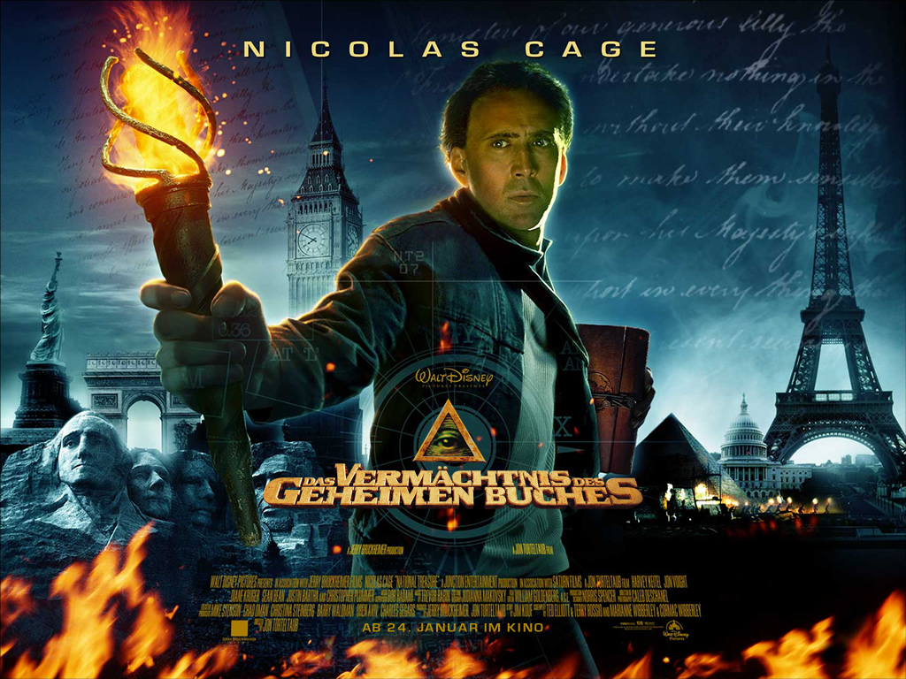 background National Treasure, снимка 2